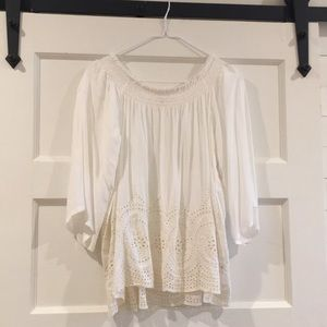 Lovestitch Sz Small off the shoulder top